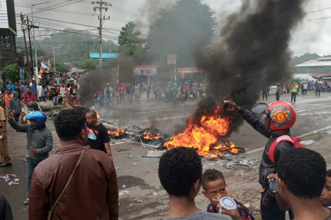 Demo di papua