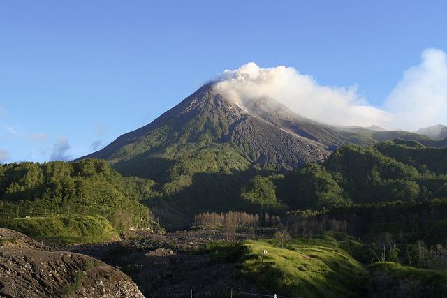 gunung misteri